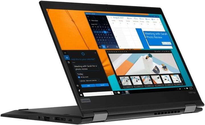 Lenovo ThinkPad X390 Yoga, černá