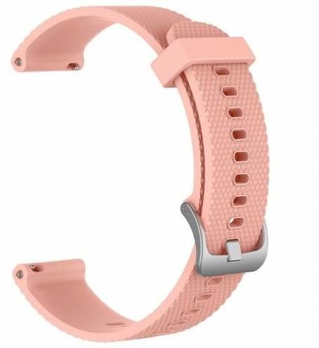 ESES silikonový řemínek pro Garmin Vivoactive 3, růžová
