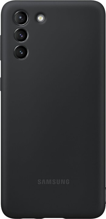 Samsung silikonový kryt pro Samsung Galaxy S21, černá