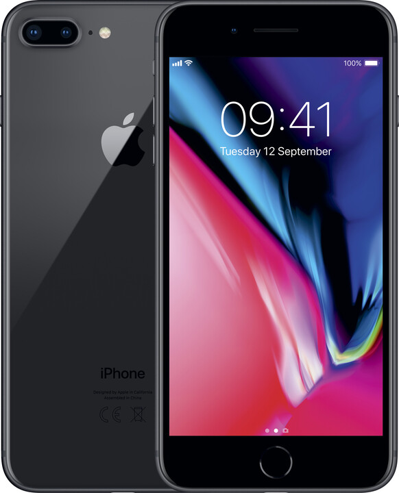 Apple iPhone 8 Plus, 256GB, šedá