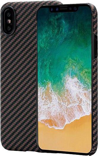 Pitaka Aramid case iPhone X, černá/zlatá