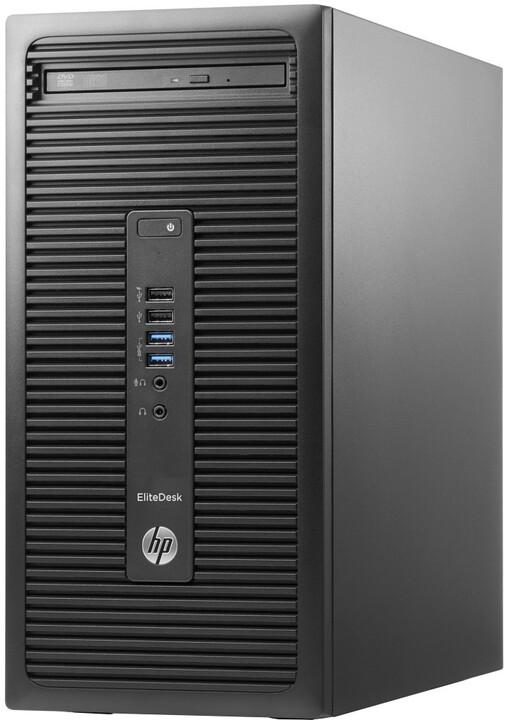 HP EliteDesk 705 G3 MT, černá