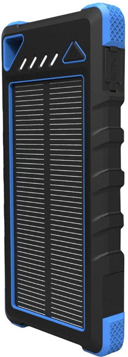 Viking solární power banka AKULA II 16000mAh, modrá