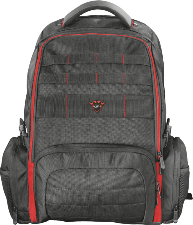 Trust GXT 1250 Hunter Gaming Backpack, černá