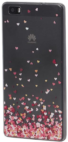 EPICO pružný plastový kryt pro Huawei P8 Lite FLYING HEART