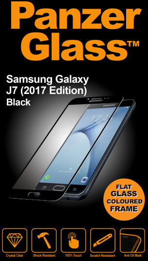 PanzerGlass Edge-to-Edge pro Samsung Galaxy J7 (2017), černé