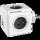 PowerCube ORIGINAL USB rozbočka-4 zásuvka, šedá