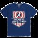 Tričko Marvel - Avengers Day, modré (L)