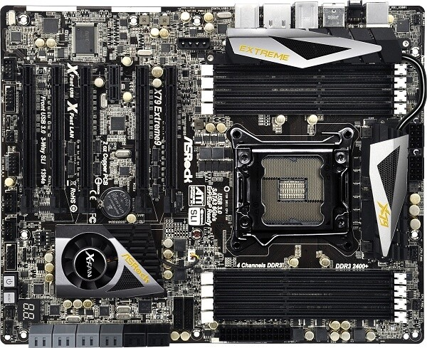 Best cooling of all Intel X79 boards with Thermal Armor and Thermal Radar