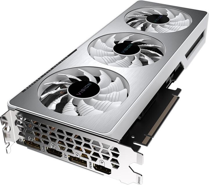 GIGABYTE GeForce RTX 3060 TI VISION OC 8G, 8GB GDDR6