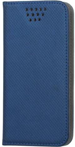 """Forever knížkové pouzdro (smartcase) typ b magnet univerzální 4,7-5,3"""" - modré"""