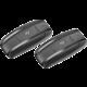 CellularLine Interphone SHAPE Bluetooth handsfree pro uzavřené a otevřené přilby, Twin Pack  + CLEAN IT čisticí utěrka z mikrovlákna, malá žlutá (v ceně 59.-) + 300 Kč na Mall.cz