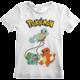 Tričko Pokémon: Original Trio, dětské, (5-6 let)