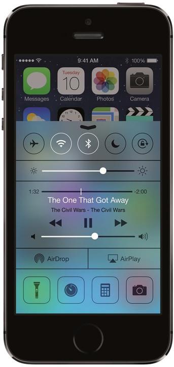 Apple iPhone 5S - 16GB, vesmírná šedá