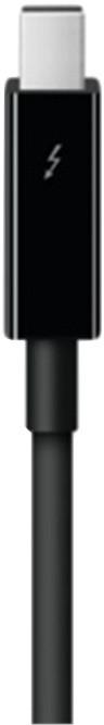 Apple Thunderbolt, 0,5m, černá
