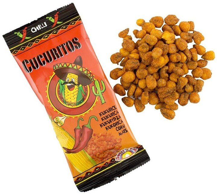 Cucuritos pražená kukuřice chilli 30g