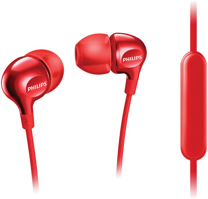 Philips SHE3705RD, červená