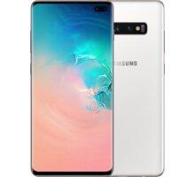 Samsung Galaxy S10+, 12GB/1024GB, Ceramic bílá  + Youtube Premium na 4 měsíce zdarma + Půlroční předplatné magazínů Blesk, Computer, Sport a Reflex v hodnotě 5800Kč