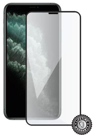 Screenshield ochrana displeje Tempered Glass pro iPhone 11 Pro, (full cover), černá