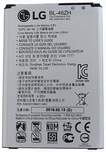 LG Baterie BL-46ZH 2045mAh Li-Ion