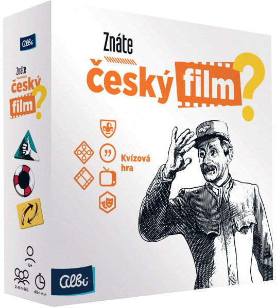 Desková hra Albi Znáte český film? (CZ)