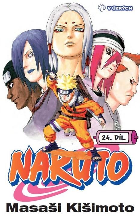 Komiks Naruto: V úzkých, 24.díl, manga