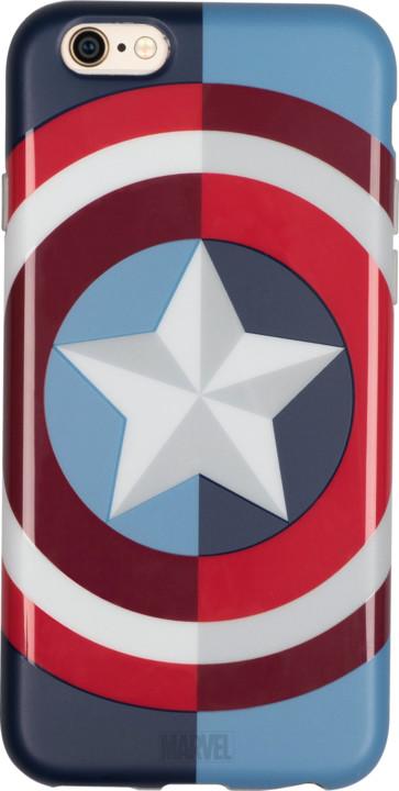 Tribe Marvel Captain America pouzdro pro iPhone 6/6s - Modré