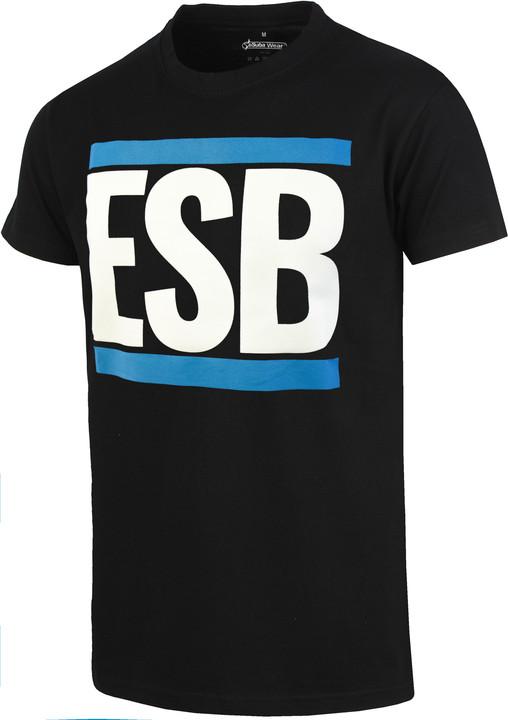 Tričko ESB, černé (XXXL)