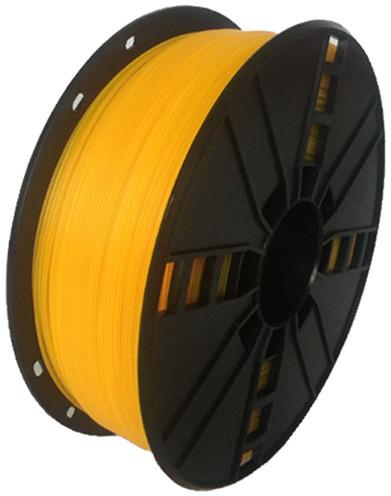 Gembird tisková struna (filament), nylon, 1,75mm, 1kg, žlutá