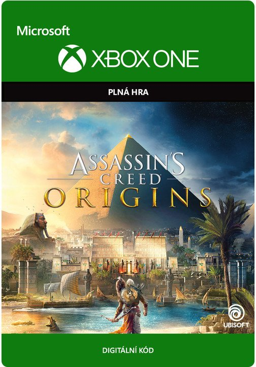 Assassin's Creed: Origins - Standard Edition (Xbox ONE) - elektronicky
