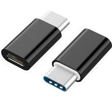 Gembird CABLEXPERT adaptér USB Type-C redukce na microUSB (CM/mF) - A-USB2-CMmF-01