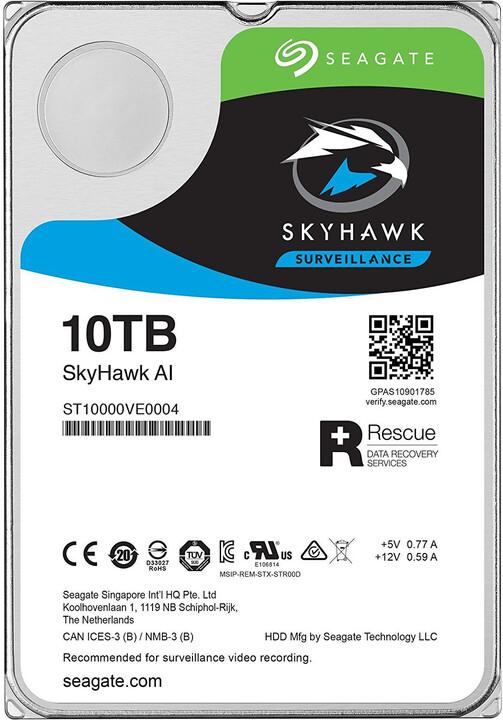 "Seagate SkyHawk AI, 3,5"" - 10TB"