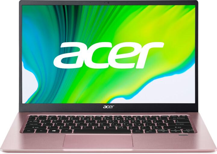 Acer Swift 1 (SF114-34), růžová
