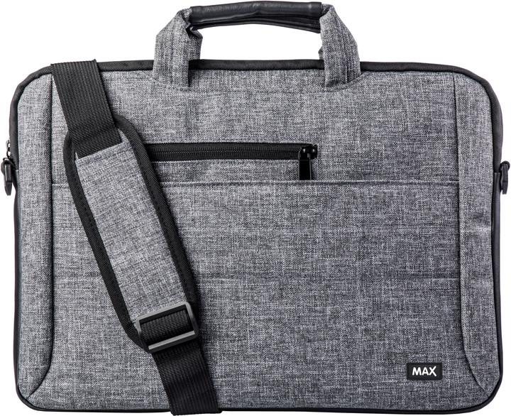 """MAX brašna na notebook MLB1501G 15"""", šedá"""