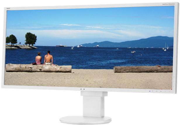 "NEC MultiSync EA294WMi, bílá - LED monitor 29"""