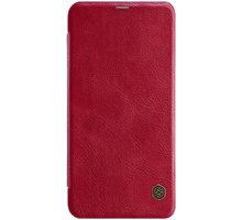 Nillkin Qin Book pouzdro pro Xiaomi Redmi Note 6 Pro, červená