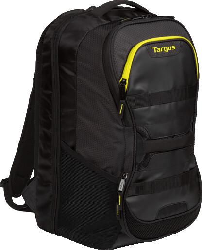 "Targus batoh na notebook Work + Play Fitness 15.6"", černá/žlutá"