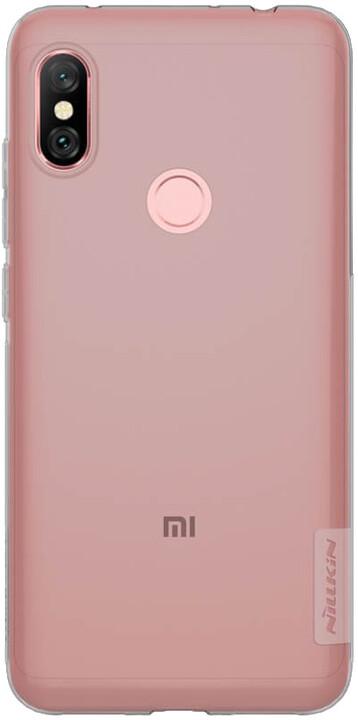 Nillkin Nature TPU pouzdro pro Xiaomi Redmi Note 6 Pro, šedá