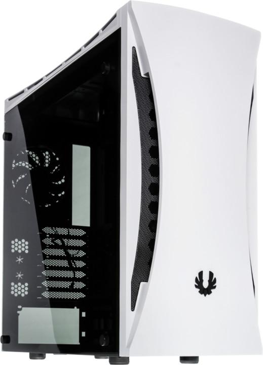 BITFENIX Aurora, celoprůhledná bočnice, bílá