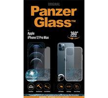 PanzerGlass Bundle ochranné sklo Standard pro iPhone 12 Pro Max + TPU zadní kryt - B2709