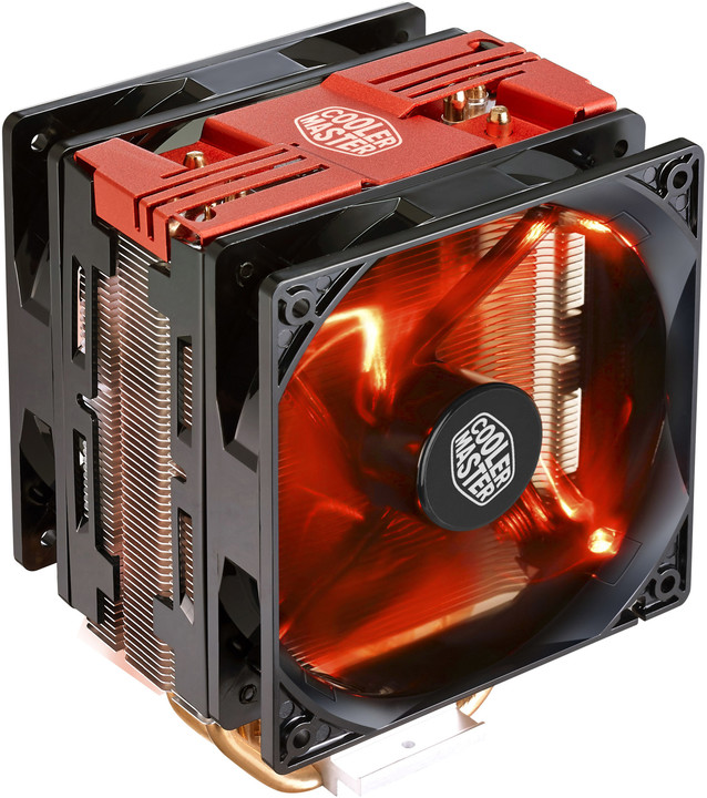 CoolerMaster Hyper 212 LED Turbo (Red Top Cover)