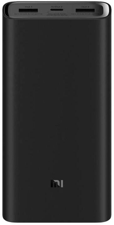 XIAOMI Mi Power Bank Pro 3 20000mAh, černá