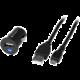 GoGEN nabíječka do auta CH 12, 1xUSB, kabel 1,2m