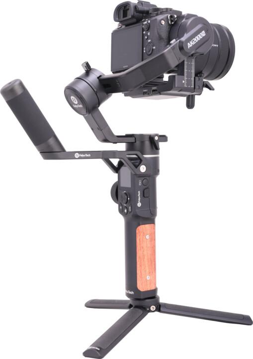 Feiyu Tech AK2000S Advanced, stabilizátor pro kamery, DSLR i malé fotoaparáty, černá