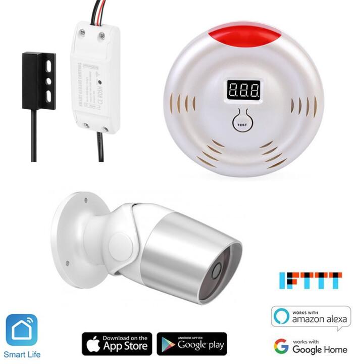 iQtech SmartLife startovací sada Garážník