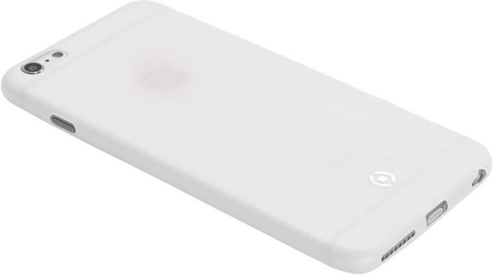 CELLY pouzdro Frost pro Apple iPhone 6 Plus/6S Plus, TPU, 0,29mm - bílá