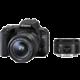 Canon EOS 200D + 18-55mm IS STM + 50mm 1.8 STM, černá  + Získejte zpět až 7 500 Kč