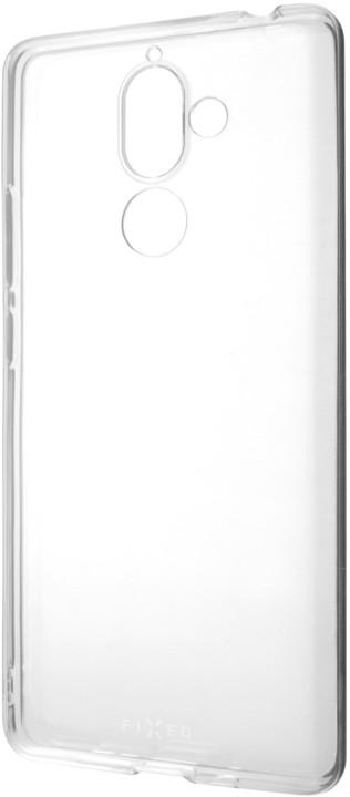 FIXED TPU gelové pouzdro pro Nokia 7 Plus, čiré