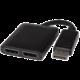 PremiumCord adaptér DisplayPort - 2x DisplayPort, rozšíření + zrcadlení obrazu, 4K*2K@30Hz