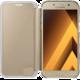 Samsung Galaxy A5 2017 (SM-A520C), flipové pouzdro, Clear View, zlaté